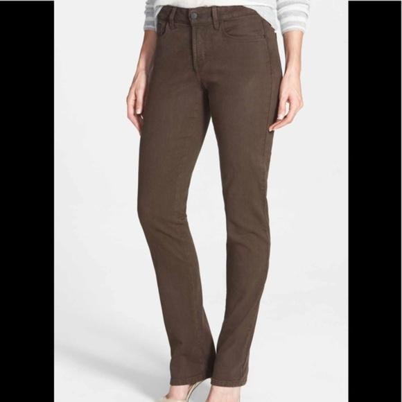 NYDJ /'Samantha/' Colored Slim Stretch Jeans